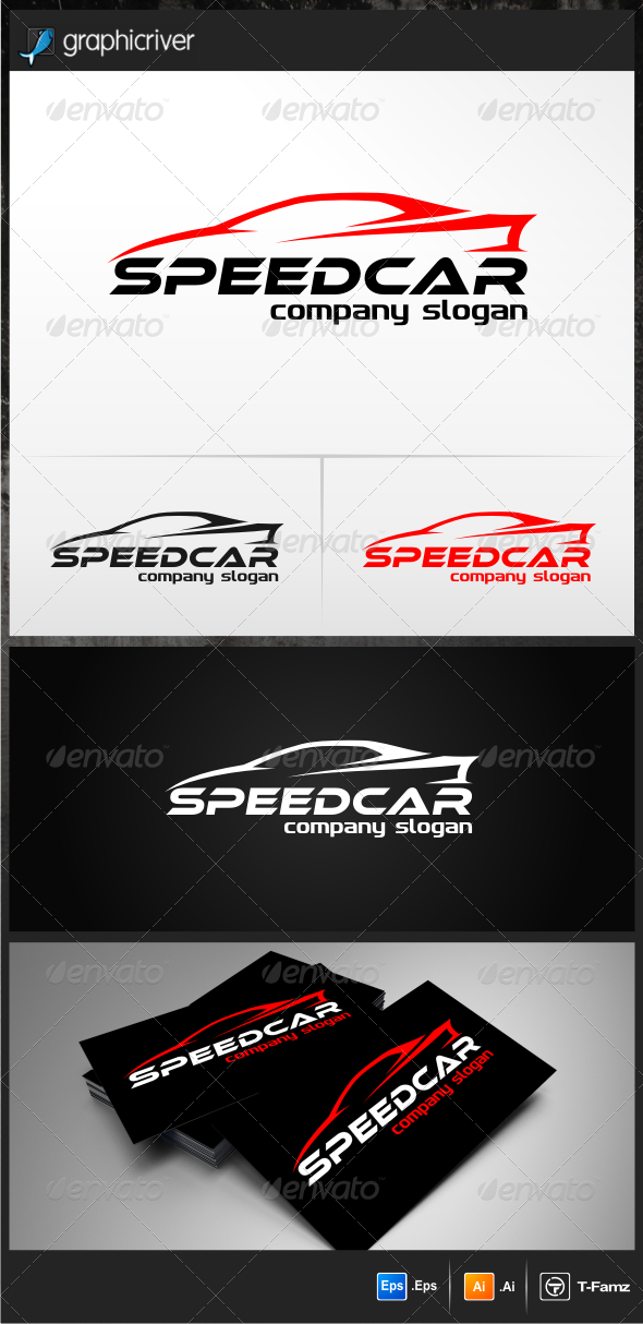 Speed Car - Objects Logo Templates