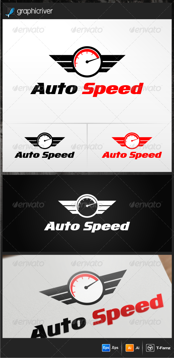 Auto Speed Logo Templates - Objects Logo Templates