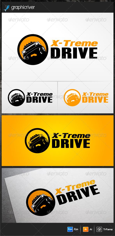X-treme Drive Logo Template - Objects Logo Templates