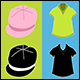 Clothing Icons Color and Black - GraphicRiver Item for Sale