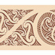 Maori Styled Seamless Pattern - GraphicRiver Item for Sale