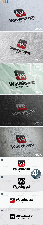 Wave Invest - Symbols Logo Templates