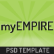 myEmpire - Business, Portfolio, Shop PSD Nulled