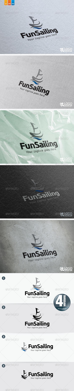Fun Sailing - Objects Logo Templates