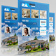 4 Styles Real Estate Flyer - GraphicRiver Item for Sale