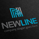 New Line Letter N Logo - GraphicRiver Item for Sale