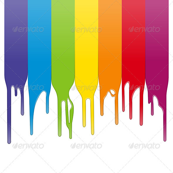 Vector Color Paint - Backgrounds Business