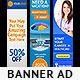 Multipurpose Web Banner Design Bundle 2 - GraphicRiver Item for Sale