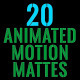 Clean Animated Motion Mattes Pack 2 - VideoHive Item for Sale