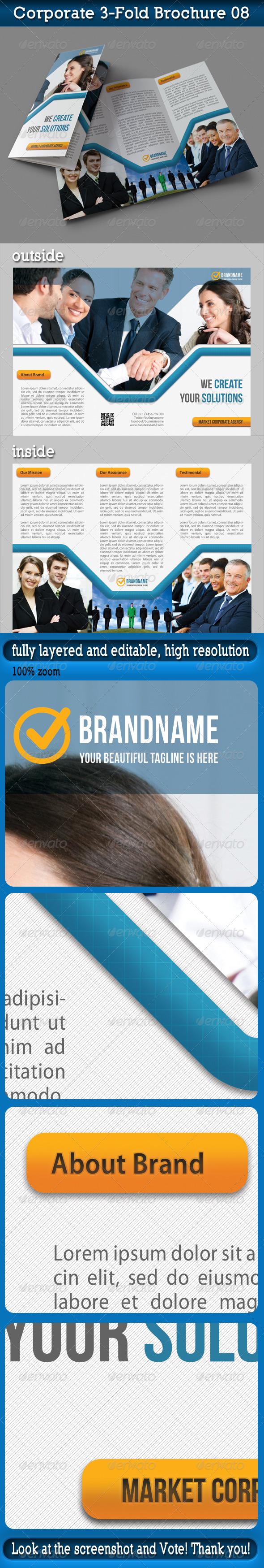 Corporate 3-Fold Brochure 09 - Corporate Brochures