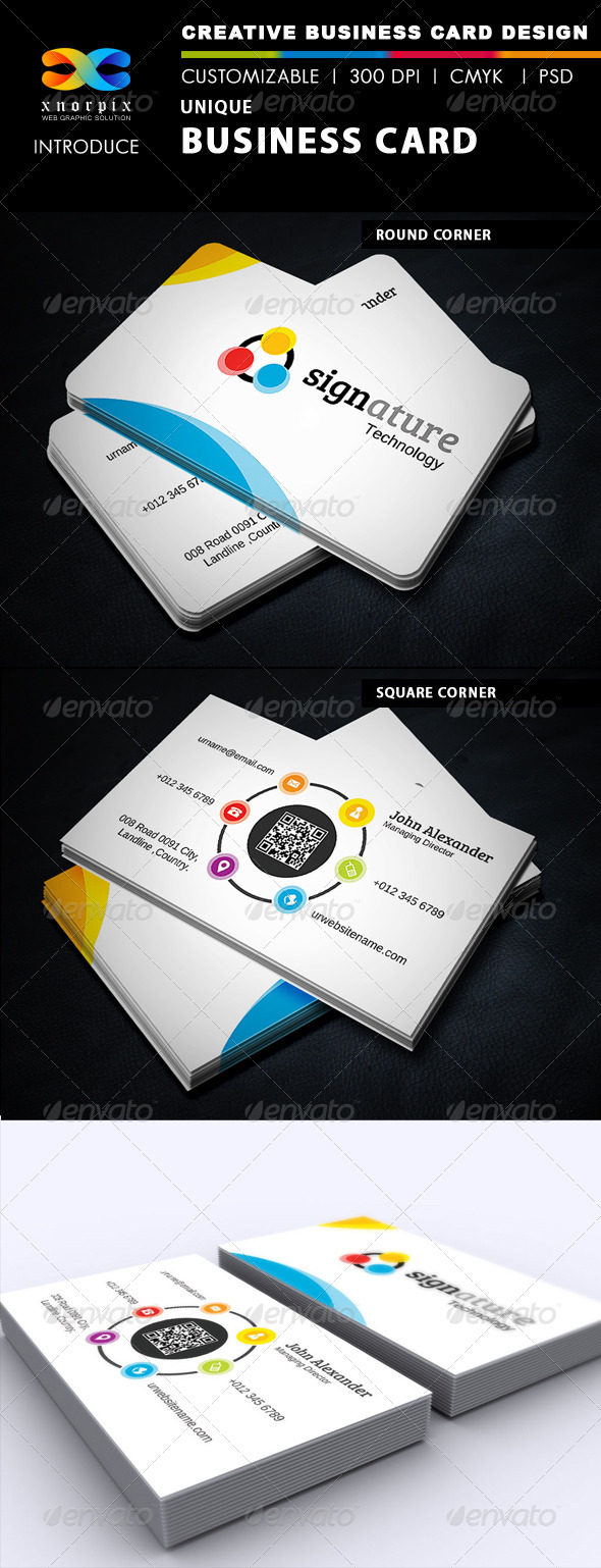 Signature Business Card - Creative Business Cards