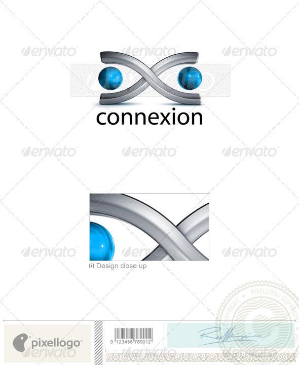 Technology Logo 3D-728 - 3d Abstract