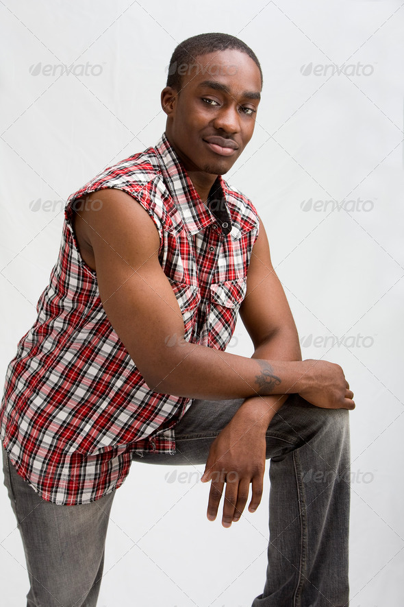 Young handsome guy - Stock Photo - Images