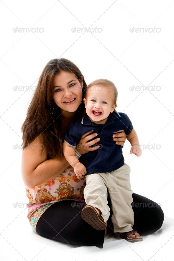 Mother & Son - Stock Photo - Images
