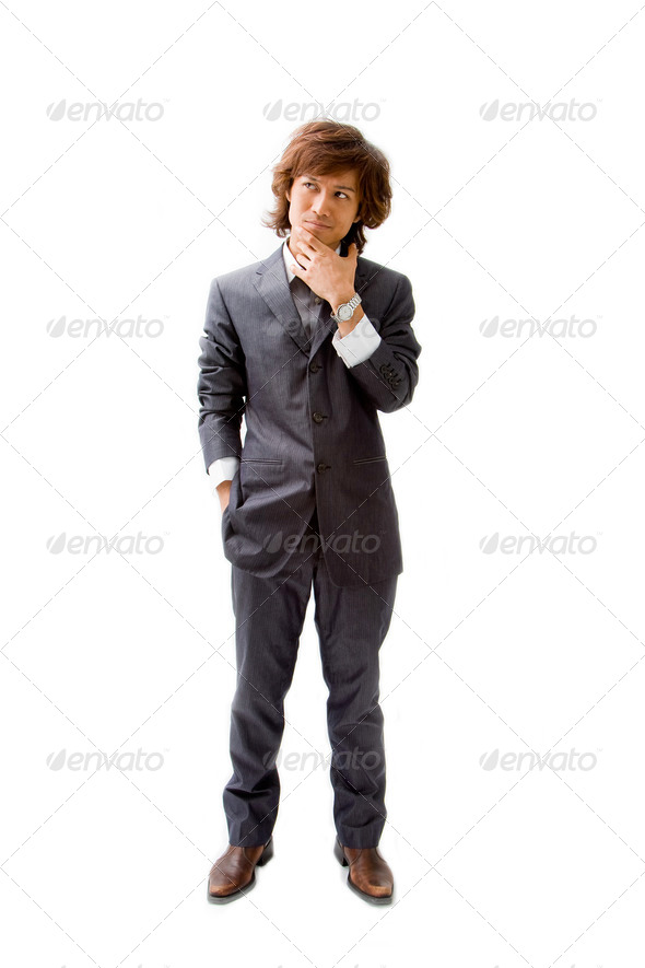 Young Asian business man - Stock Photo - Images