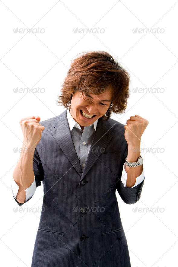 Business deal celebration - Stock Photo - Images