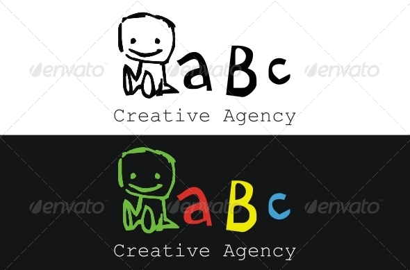 Creative Agency Logo - Vector Abstract