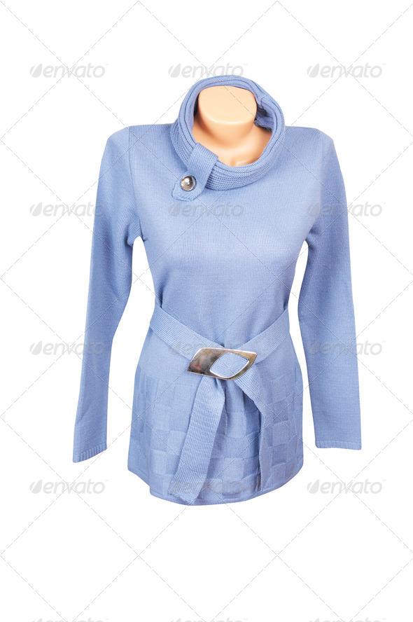 Stylish tunic on a white. - Stock Photo - Images