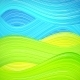Green and Blue Wave Background - GraphicRiver Item for Sale