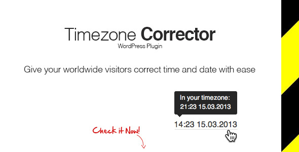WP TimeZone Corrector - CodeCanyon Item for Sale