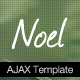 Noel - Onepage AJAX Template - ThemeForest Item for Sale
