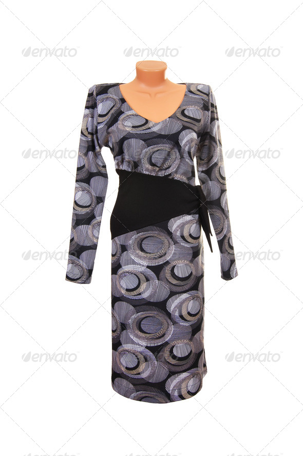 Wonderful contemporary dress. - Stock Photo - Images