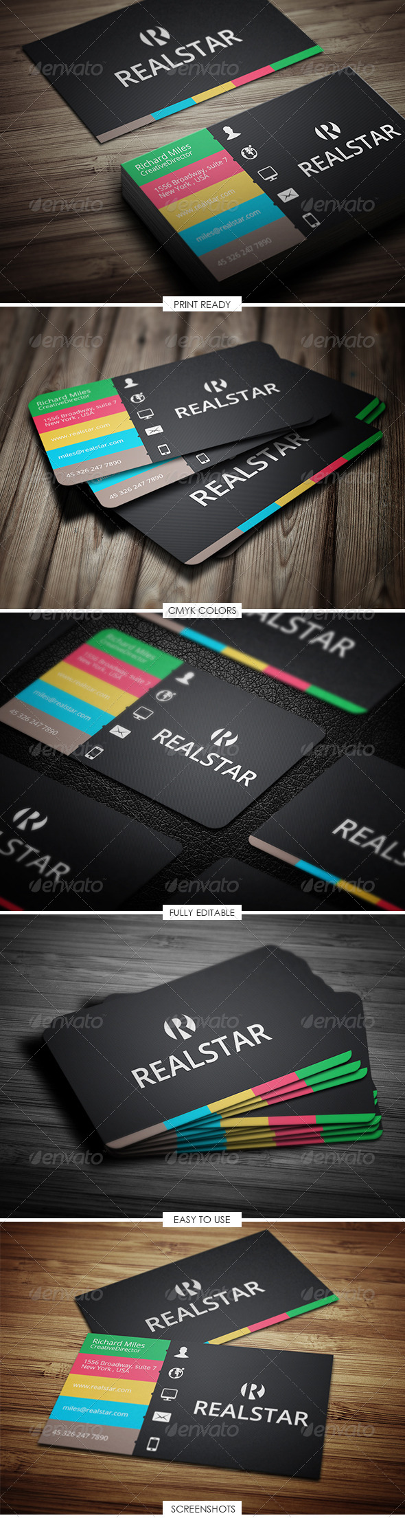 Corporate & Creative Business Card - Business Cards Print Templates