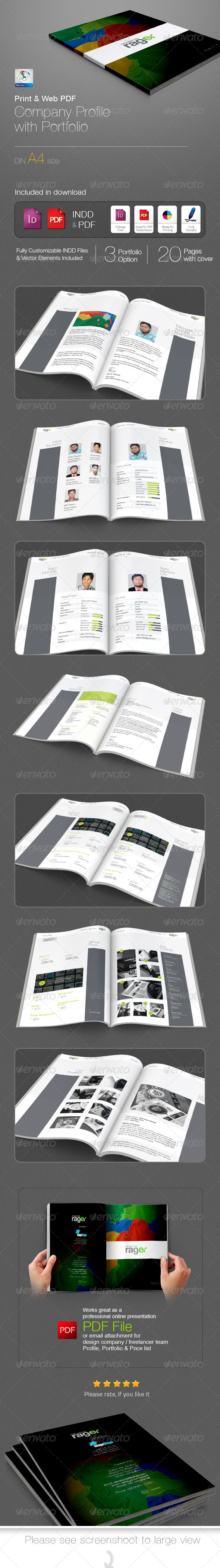 graphic design studio company profile pdf