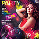 Colorful Party Flyer - GraphicRiver Item for Sale