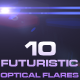 10 Futuristic Optical Flares - GraphicRiver Item for Sale