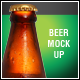 Beer Bottle Mock-Up V4 - GraphicRiver Item for Sale