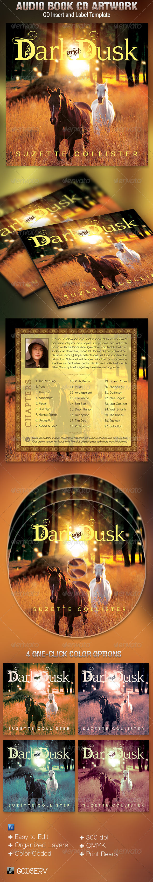 Country CD Artwork Template - CD & DVD Artwork Print Templates