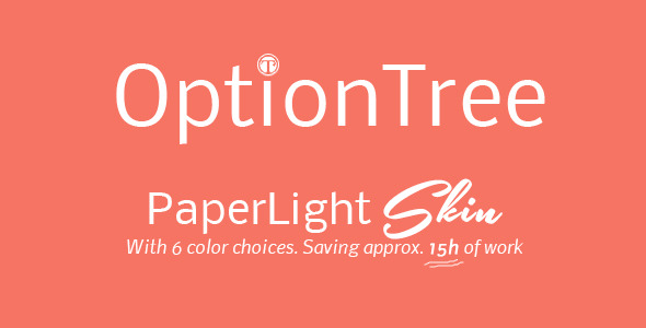 OptionTree PaperLight Skin - CodeCanyon Item for Sale