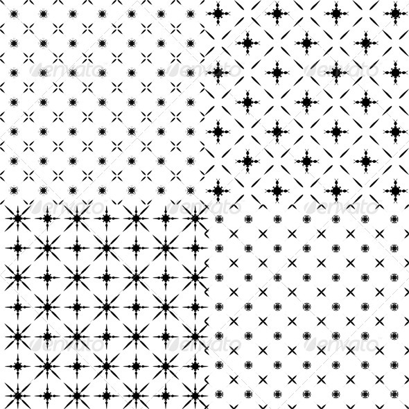 Set of abstract patterns. - Patterns Decorative