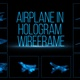 Airplanes In Hologram Wireframe - VideoHive Item for Sale