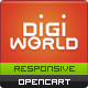 Premium Responsive OpenCart Theme - Digital World Nulled
