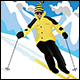 Skiing Illustrations - GraphicRiver Item for Sale