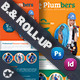 Plumbers Billboard & Roll-Up Template - GraphicRiver Item for Sale