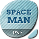 Spaceman - Origami PSD Template - ThemeForest Item for Sale