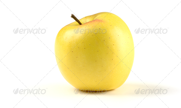 Single Apple - Stock Photo - Images