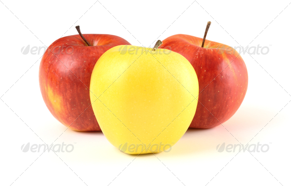 Group of apples - Stock Photo - Images
