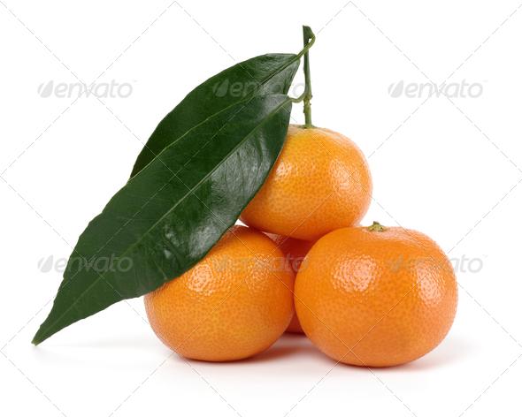Small Heap Of Ripe Mandarins - Stock Photo - Images