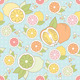 Vector Seamless Pattern with Citrus - GraphicRiver Item for Sale