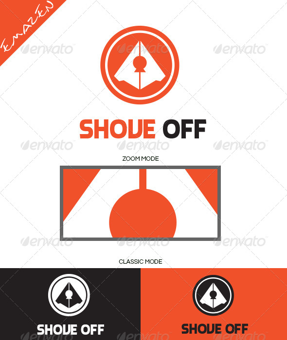 Shove Off Logo Template - Objects Logo Templates