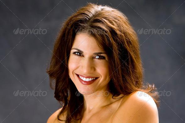 Beautiful face - Stock Photo - Images
