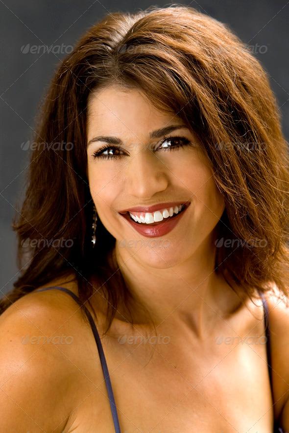Beautiful smile - Stock Photo - Images
