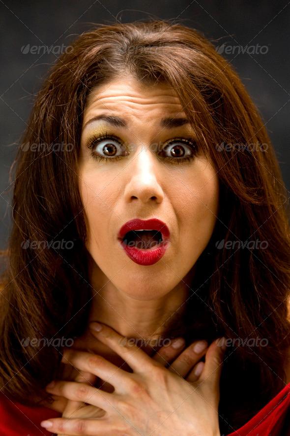 Shocked - Stock Photo - Images