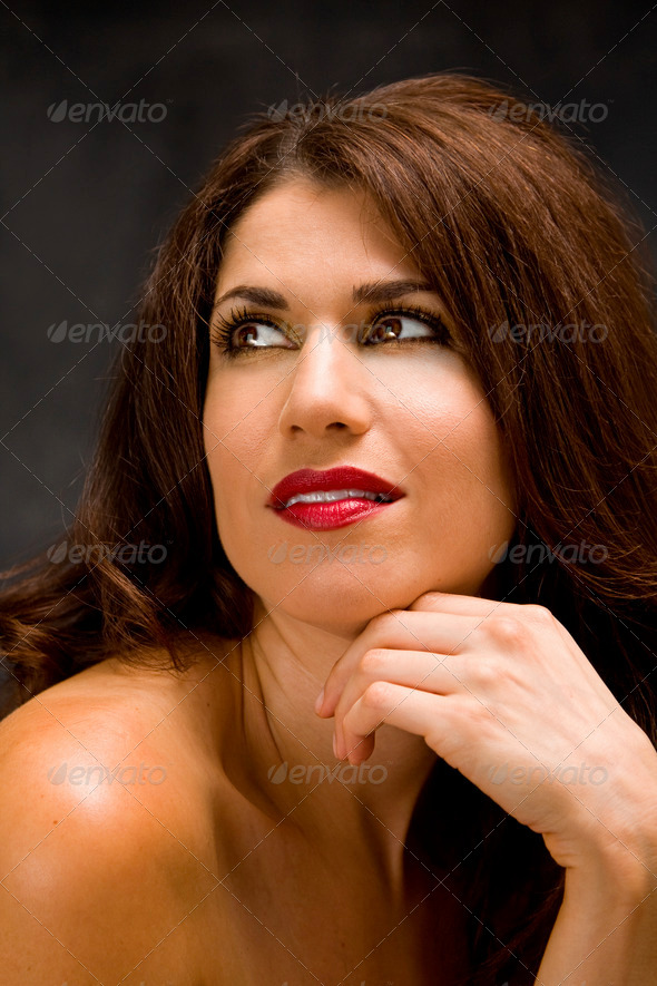 Beautiful face - Stock Photo - Images