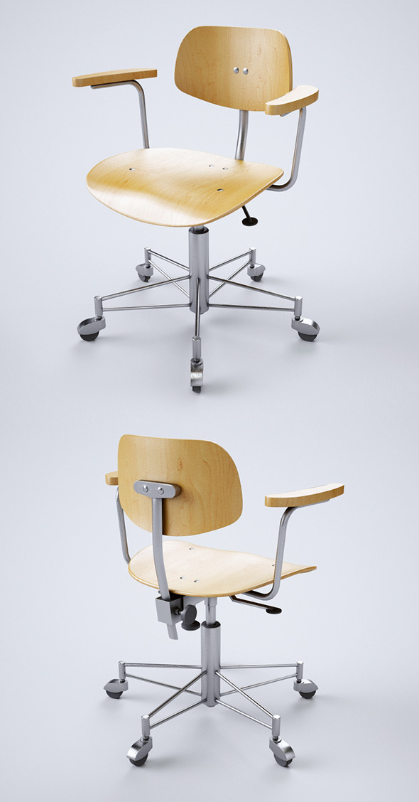 Chair WILDE+SPIETH, SBG_197_R - 3DOcean Item for Sale