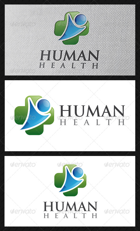 Human Health Logo Template - Humans Logo Templates